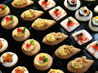 1920s canapes